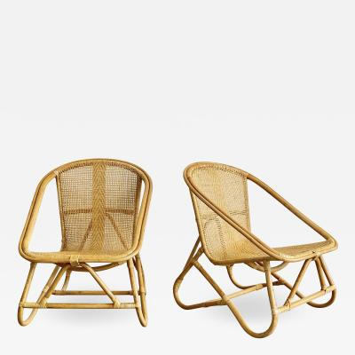 ITALIAN BAMBOO CHAIRS