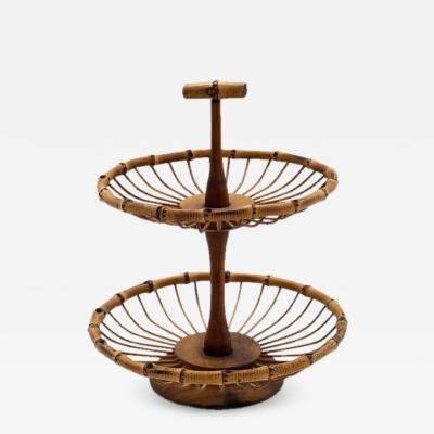 ITALIAN BAMBOO FRUIT BASKET