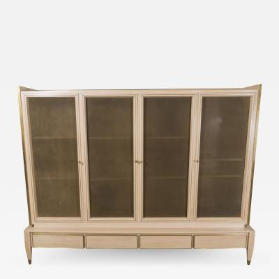 ITALIAN CABINET WITH BRONZE SCREENS
