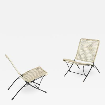 ITALIAN OUTDOOR ARMCHAIRS FROM THE 1950S