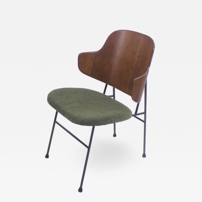 Ib Kofod Larsen Classic Scandinavian Modern Chair Designed by Ib Kofod Larsen