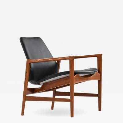 Ib Kofod Larsen Easy Chair Model Holte Produced by OPE