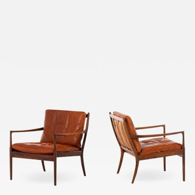 Ib Kofod Larsen Easy Chairs Model Sams Produced by OPE