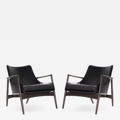 Ib Kofod Larsen Easy Chairs by Ib Kofod Larsen Denmark 1950s