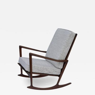 Ib Kofod Larsen Ib Kofod Larsen For Selig Sculptural Rocking Chair