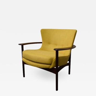 Ib Kofod Larsen Ib Kofod Larsen Horseshoe Lounge Chair 655 15