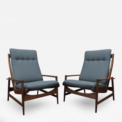Ib Kofod Larsen Ib Kofod Larsen Lounge Chairs