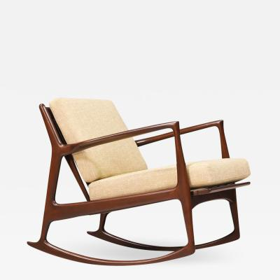 Ib Kofod Larsen Ib Kofod Larsen Rocking Chair for Selig