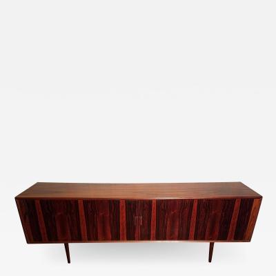 Ib Kofod Larsen Ib Kofod Larsen Rosewood Tambour Sideboard Faarup M belfabrik Denmark 1960s