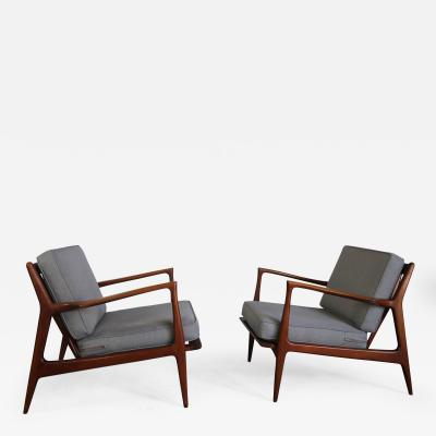 Ib Kofod Larsen Koford Larsen Lounge Chairs for Selig