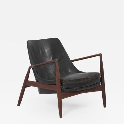 Ib Kofod Larsen Lounge Chair Seal S len Model 503 799 by Ib Kofod Larsen for OPE Olof Persson