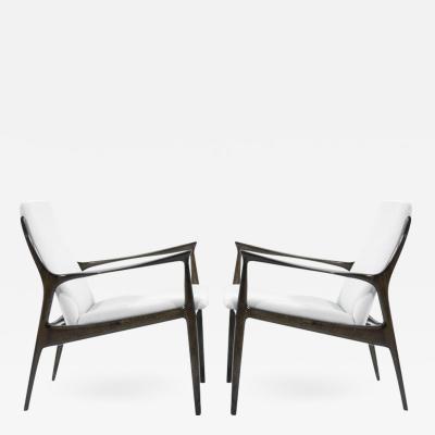Ib Kofod Larsen Lounge Chairs by Ib Kofod Larsen