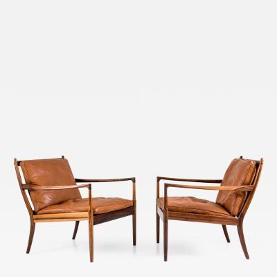 Ib Kofod Larsen Midcentury Lounge Chairs Sams by Ib Kofod Larsen