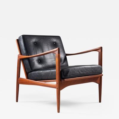 Ib Kofod Larsen Midcentury Scandinavian Lounge Chair Kanidaten by Ib Kofod Larsen