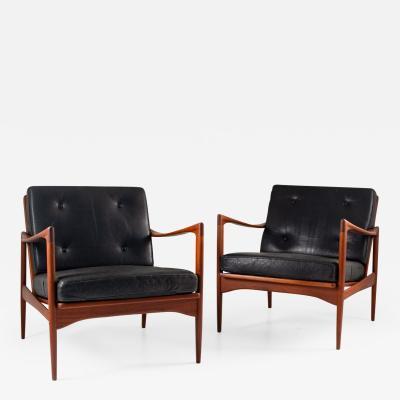 Ib Kofod Larsen Midcentury Scandinavian Lounge Chairs Kanidaten by Ib Kofod Larsen
