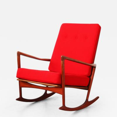 Ib Kofod Larsen Rocking Chair