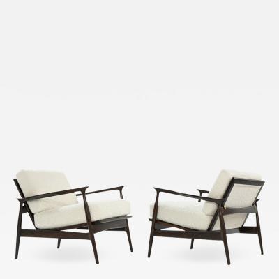 Ib Kofod Larsen Scandinavian Modern Lounge Chairs by Ib Kofod Larsen C 1950s