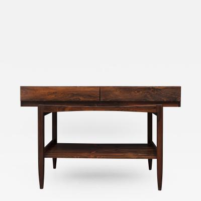 Ib Kofod Larsen ib Kofod Larsen Rosewood Console Table