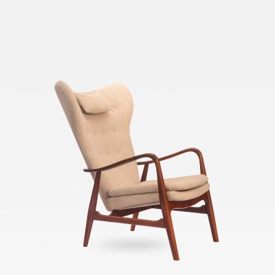 Ib Madsen A Danish Teak Lounge Chair