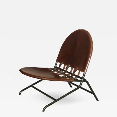 Ico Luisa Parisi Folding Garden Chair by Ico Luisa Parisi