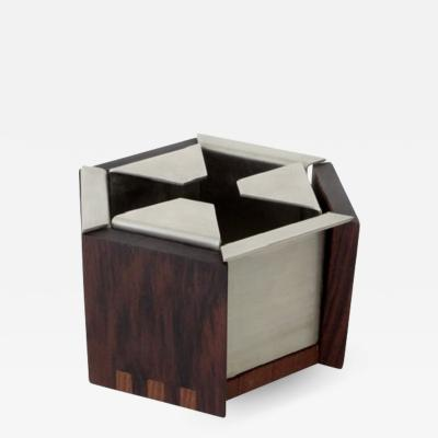 Ico Parisi ICO PARISI ITALIAN WALNUT AND ROSEWOOD ASHTRAY