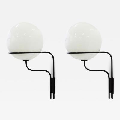 Ico Parisi Ico Parisi Mod No 256 Wall Lights for Arteluce Italy 1964