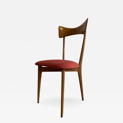 Ico Parisi Ico Parisi bow tie Ariberto Colombo Cantu Dining Chairs Set of 6
