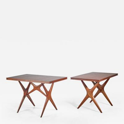 Ico Parisi Ico Parisi pair of tables Italy 1950s