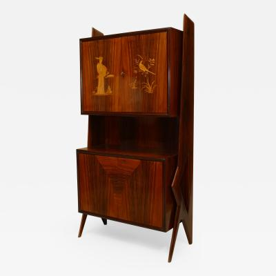 Ico Parisi Italian 1950s Rosewood Cabinet