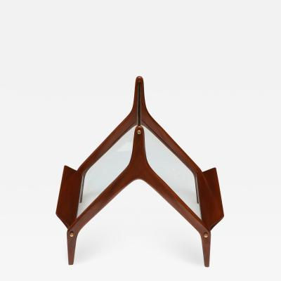 Ico Parisi Modernist Magazine Rack Attributed to Ico Parisi Italy 1950s