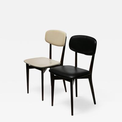 Ico Parisi Pair of Chairs Modrl 691 by Ico Parisi For Cassina