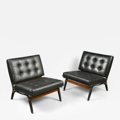 Ico Parisi Pair of Chairs by Ico Parisi 1916 1996 Cassina Production Italy ca 1958