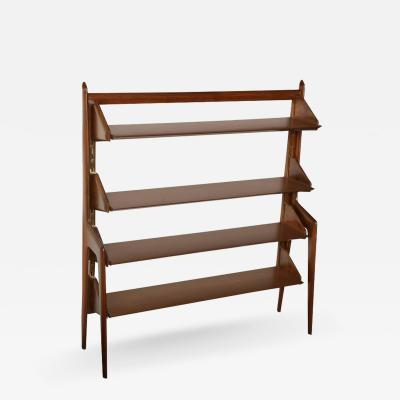Ico Parisi Parisi Four Shelf Bookcase made in Italy 1955