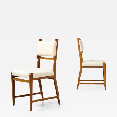 Ico Parisi Rare Set of 6 Dining Chairs by Ico Parisi