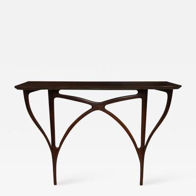 Ico Parisi Rare Wall Mounted Console Table by Ico Parisi