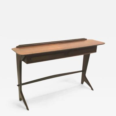 Ico Parisi Rare and Important Italian Mid Century Modern Rosewood Console by Ico Parisi