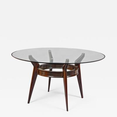Ico Parisi Round Dining Table In The Style Of Ico Parisi Italy1950s