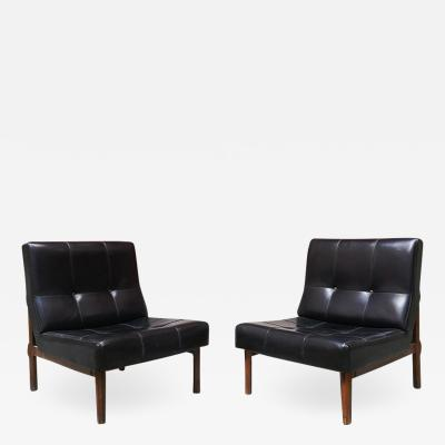 Ico Parisi Set of 2 armchairs mod 869 by Ico Parisi for Cassina 1950s