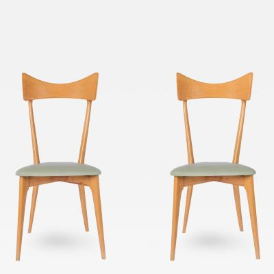 Ico Parisi Set of 6 Chairs by Ico Parisi