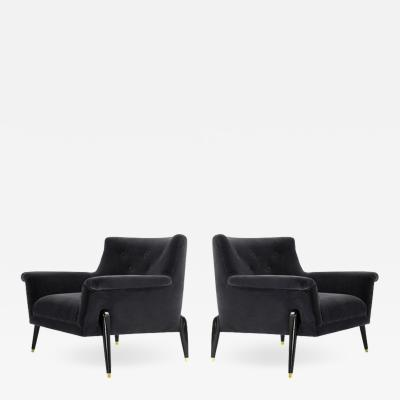 Ico Parisi Style Spider Leg Lounge Chairs Italy 1960s