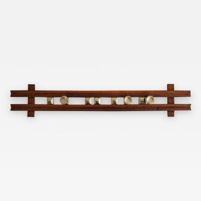 Ico Parisi Wall Coat Rack mod Regolo 1802 by Ico Parisi for Stildomuselezione