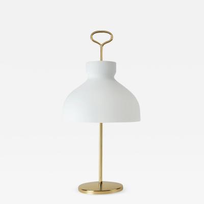 Ignazio Gardella Ignazio Gardella Arenzano Table Lamp in Brass and Glass