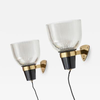 Ignazio Gardella Pair of wall lights two pairs available