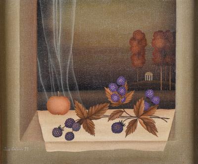Igor Galanin Autumn Window Still Life