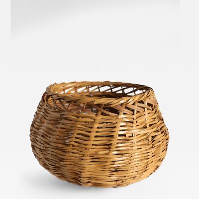 Iizuka Rokansai Bamboo Basket