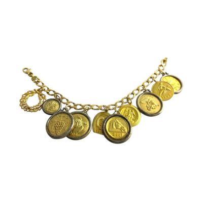Ilias Lalaounis Ilias Lalaounis Gold Charm Bracelet