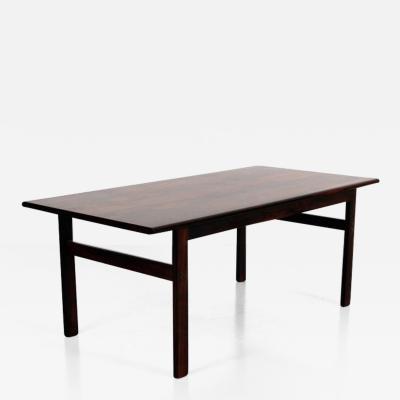 Illum Wikkels 1950s Illum Wikkelso Rosewood Side Table
