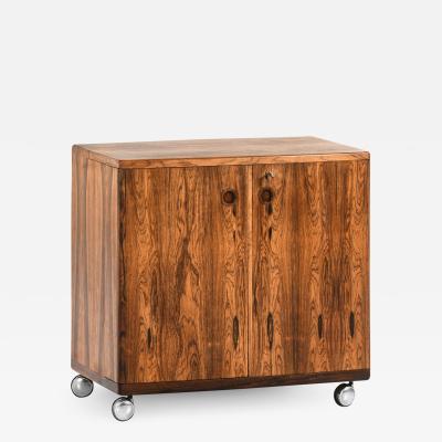 Illum Wikkels Bar Cabinet Produced in CFC Silkeborg