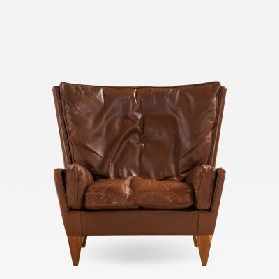 Illum Wikkels Easy Chair Model V11 Produced by Holger Christiansen