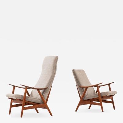 Illum Wikkels Easy Chairs Model 10 Produced by S ren Willadsen M belfabrik